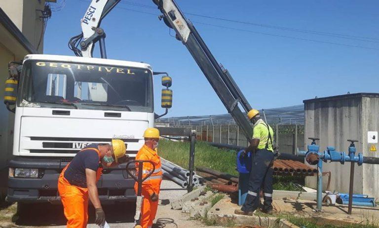 Acquedotto Medma, avviata la pulizia e la rigenerazione dei pozzi
