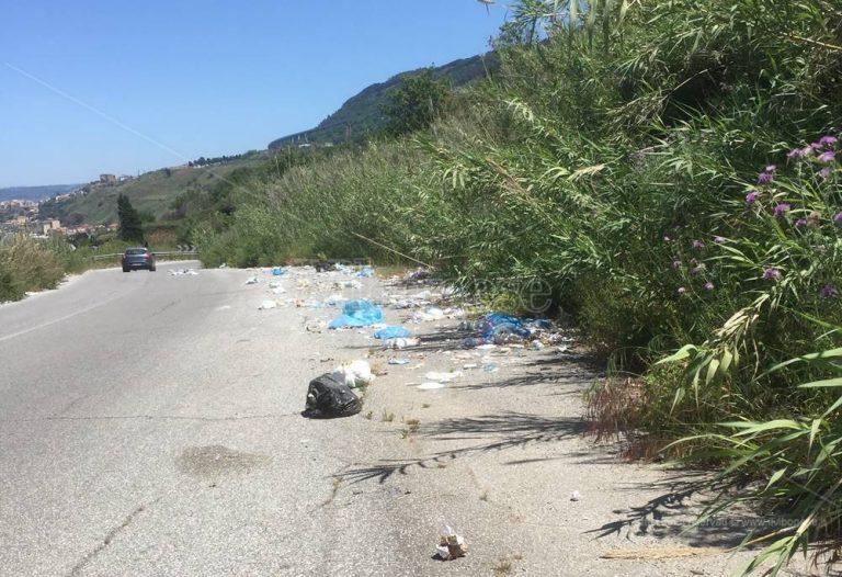 La quarantena non ferma gli incivili, a Vibo Marina compaiono nuove discariche