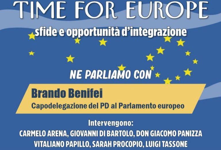 Europa: sfide e opportunità, tavola rotonda con Brando Benifei