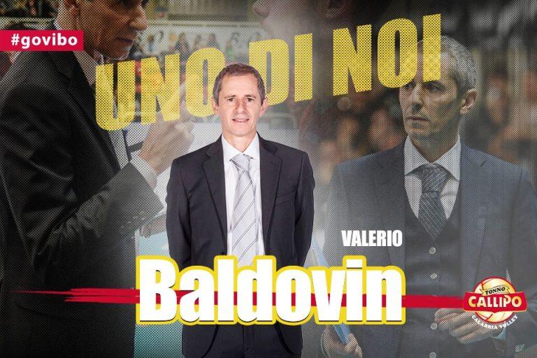 Tonno Callipo, Valerio Baldovin è il nuovo allenatore dei giallorossi