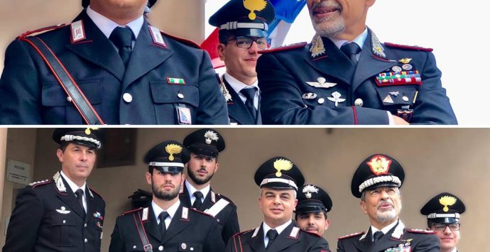 Carabinieri, il generale Carmelo Burgio in visita alle Stazioni vibonesi – Foto