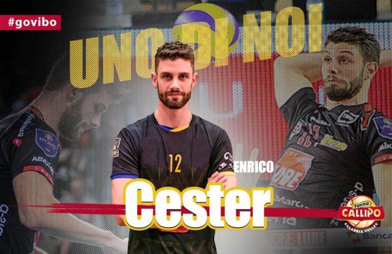 Superlega, primo centrale in arrivo a Vibo: ecco Enrico Cester