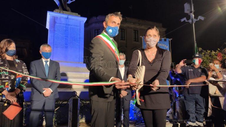 Festa grande a Tropea, celebrato il restyling di piazza Vittorio Veneto – Video