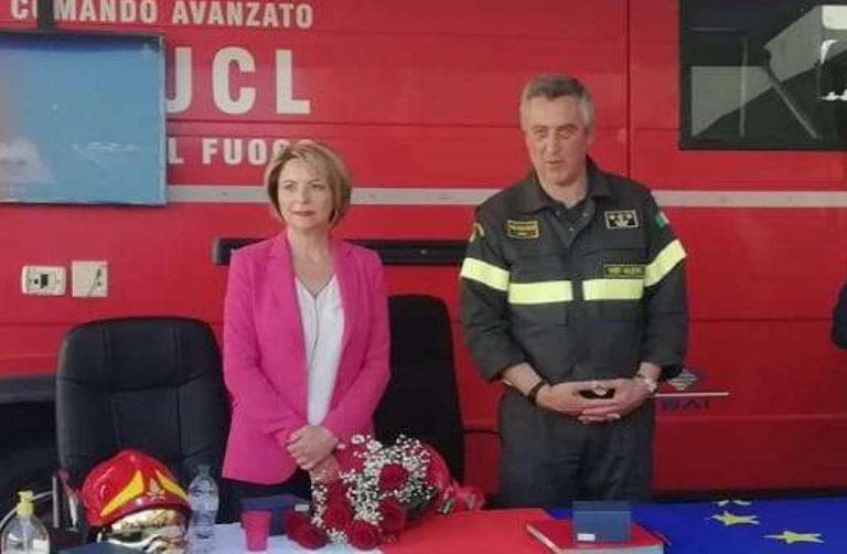Vibo, il sindaco saluta il comandante dei Vigili del fuoco: «Lascia segno indelebile»