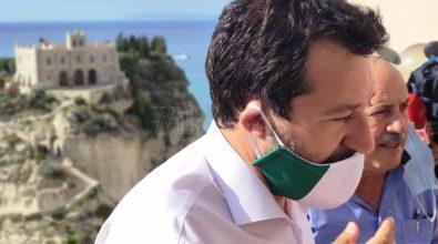 Matteo Salvini a Tropea, dagli incendi alla sanità in Calabria – Video