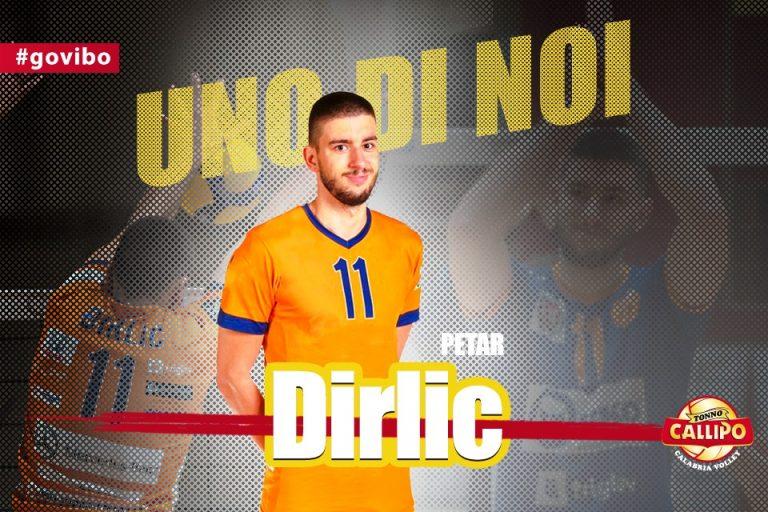 Tonno Callipo, un nuovo opposto per coach Baldovin: ecco Petar Dirlic