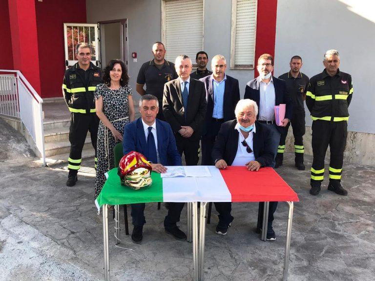 Vigili del fuoco a Ricadi, il distaccamento permanente è realtà