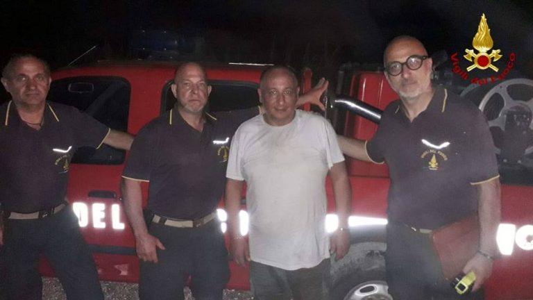 Si perde nelle campagne tra Filogaso e Sant'Onofrio: recuperato dai vigili del fuoco