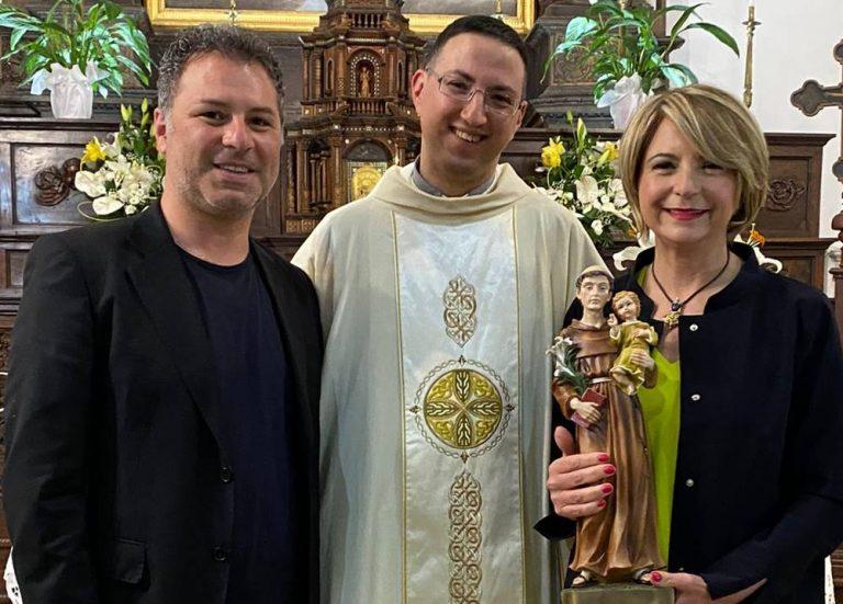 Vibo, il sindaco Limardo affida la città a Sant'Antonio di Padova