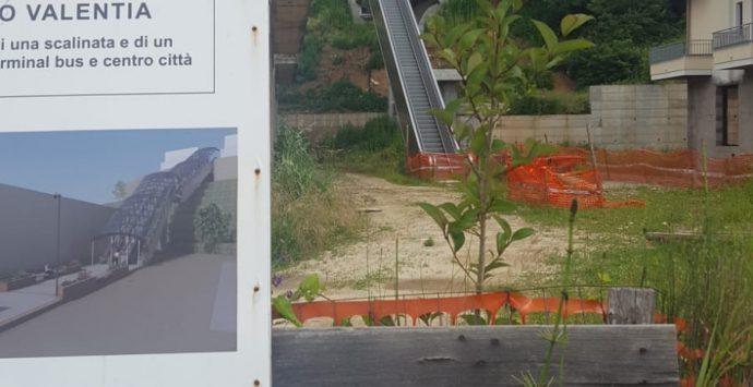 Scala mobile a Vibo, dai fondi del 2004 al cantiere bloccato: ennesima incompiuta? – Video