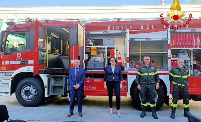 Vigili del fuoco, il comandante Rizzo saluta: nuovo incarico a Treviso