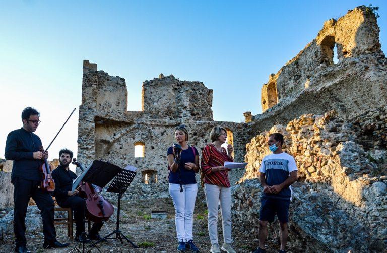 Il castello di Bivona torna a splendere: inaugurata l'antica fortificazione