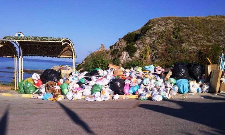 Emergenza rifiuti a Ricadi, sanzionata la ditta appaltatrice del servizio