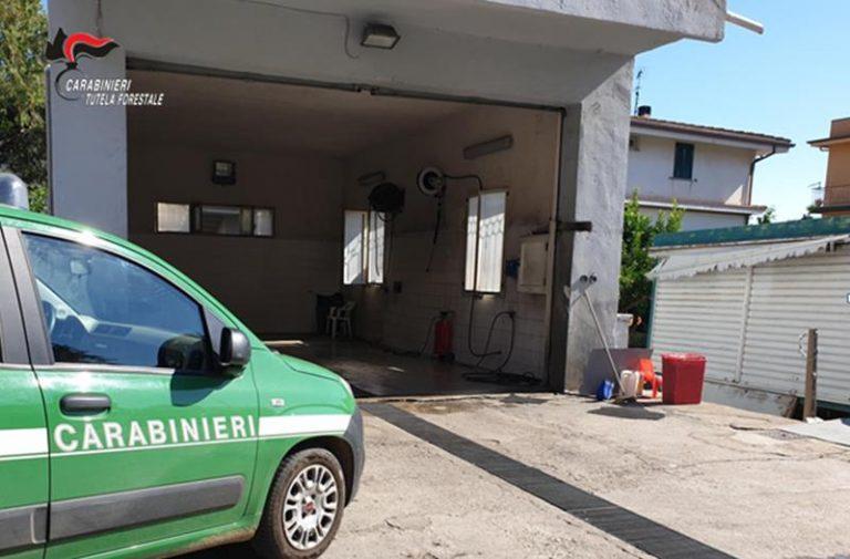 Violazioni di legge per un autolavaggio di Nicotera, scatta il sequestro