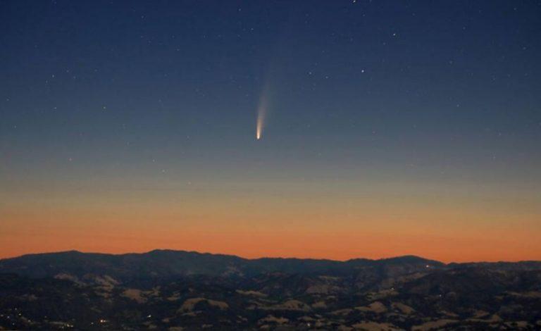 Tutto pronto al Parco delle Rimembranze per la cometa Neowise