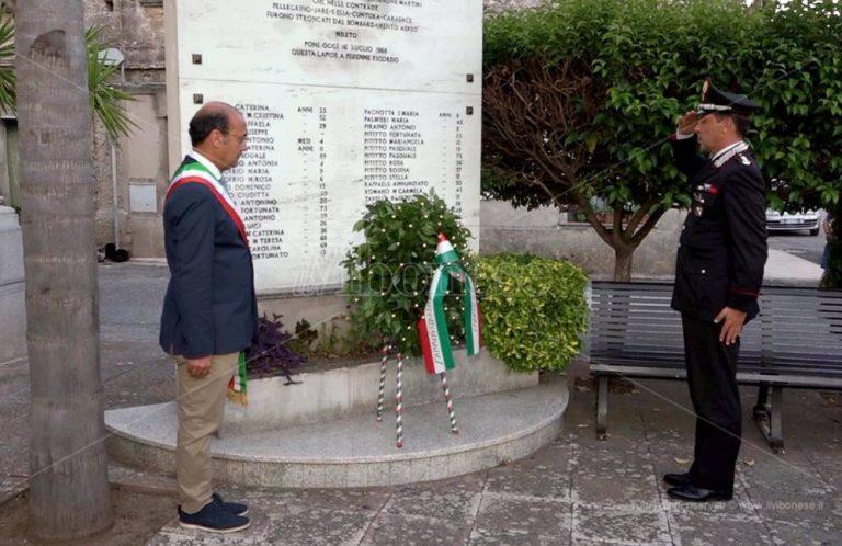 Mileto non dimentica Carasace, celebrato il 77esimo anniversario della strage – Foto