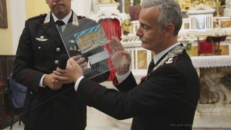 Il tenente colonnello Luca Romano lascia Vibo Valentia e approda a Monza – Video