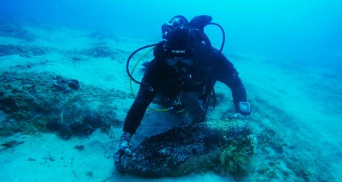 Ordigni ritrovati a Briatico, mare off limits davanti a Punta Safò