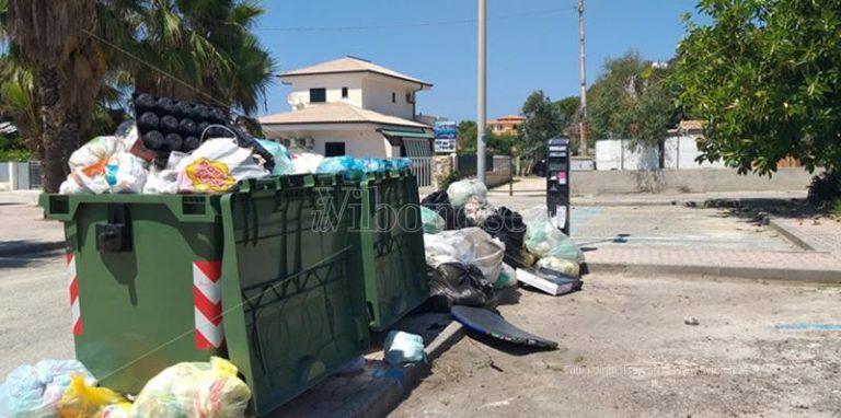 Capo Vaticano: parcometro fra la spazzatura, la protesta di una turista