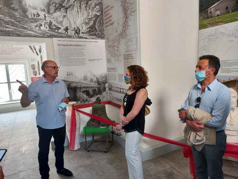 Mongiana: il sottosegretario Orrico in visita ai siti di archeologia industriale