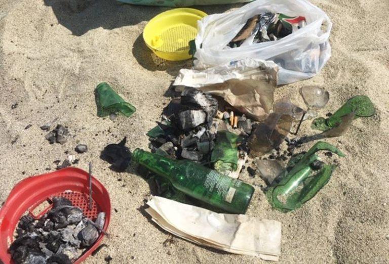 """Il """"day after"""" della notte di San Lorenzo: «Spiagge come discariche»"""