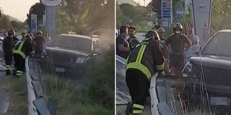 Incidente stradale alle porte di Tropea, suv finisce fuori strada