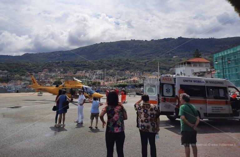 Deceduto a Catanzaro il 77enne di Vibo Marina caduto da una scala