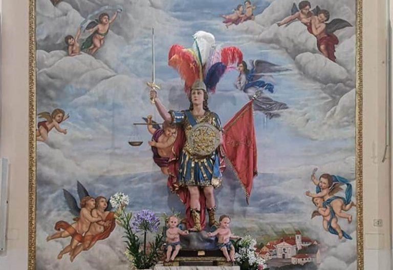 Nuovo dipinto per la chiesa di Piscopio