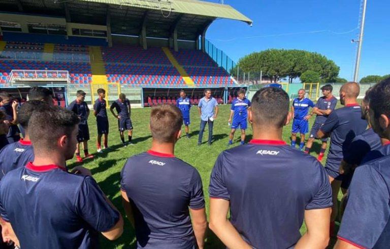 La Vibonese comincia di sabato sera il suo cammino in Serie C