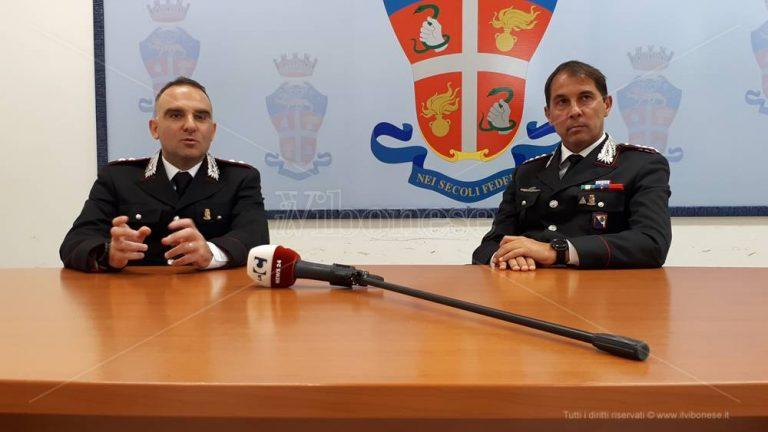 Alessandro Corda nuovo comandante del Reparto operativo dei carabinieri di Vibo – Video