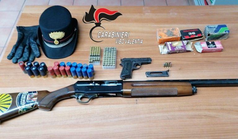 Pistola in garage, un arresto a Zungri – Video