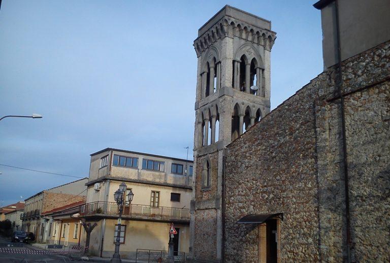 Campanile della chiesa di Mileto, ristrutturazione al via