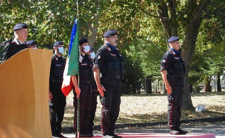 Carabinieri, cambio della guardia alla guida del 14° Battaglione Calabria – Foto