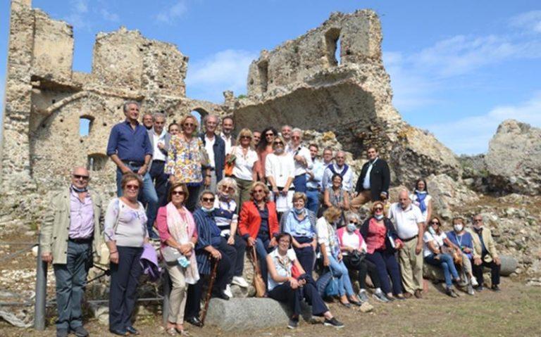 Visita al castello di Bivona dell'Istituto Italiano Castelli