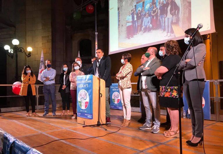 Comunali a Serra San Bruno, primo comizio per Figliucci e la sua lista