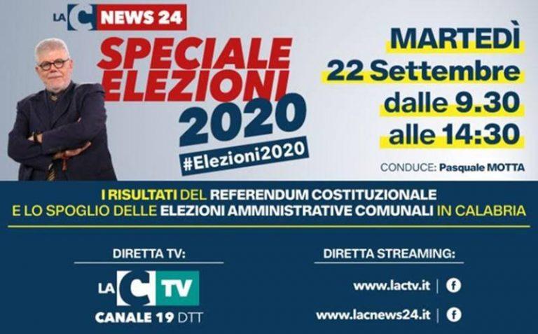 Speciale elezioni Calabria 2020: tutti i risultati in diretta nella maratona di LaC Tv