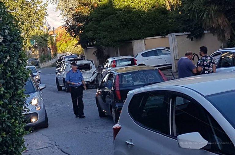 Incidente stradale a Mesiano, tre auto coinvolte e un ferito