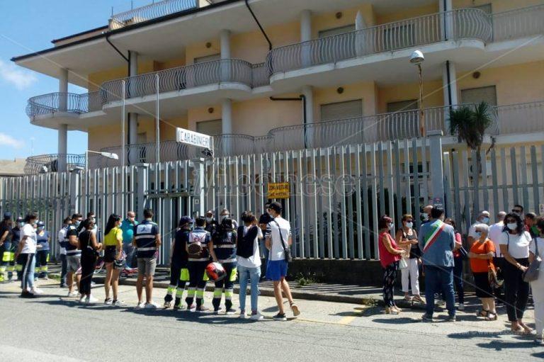 Sant'Onofrio, la comunità si stringe al maresciallo Michele Sanzo – Video