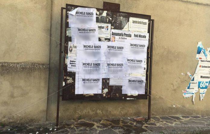 Arresta latitante, manifesti funebri contro il maresciallo dei carabinieri