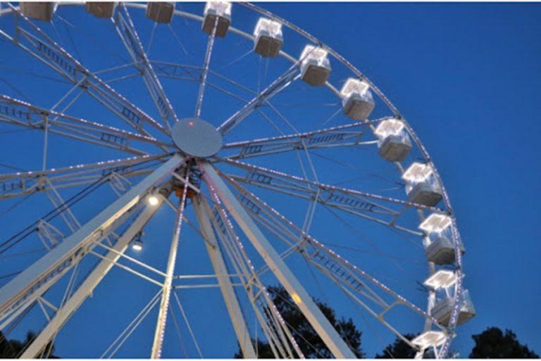 La grande ruota panoramica sbarca a Vibo