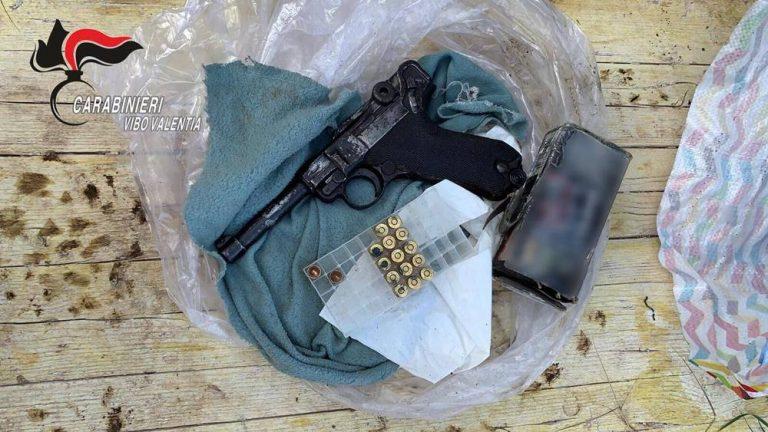 Armi a Zungri, 28enne passa ai domiciliari