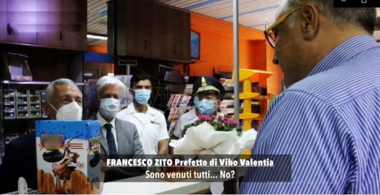 Nicotera, il ritorno alla vita dell'imprenditore che ha denunciato i Mancuso – Video