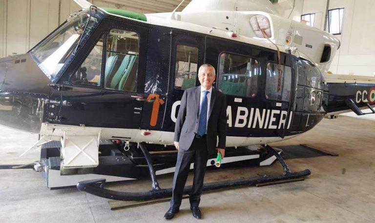 Il prefetto Francesco Zito omaggia l'8° Nucleo elicotteri di Vibo – Foto