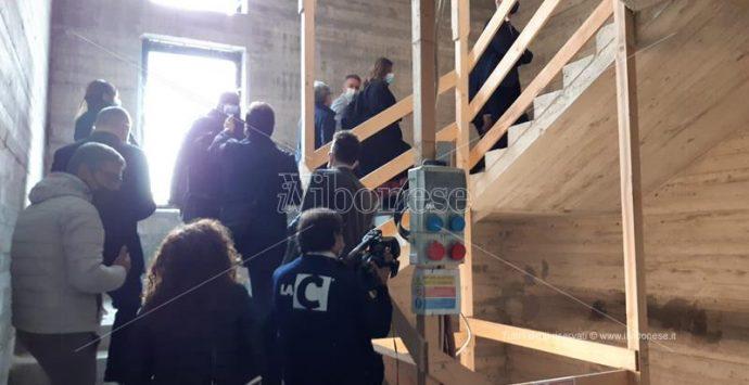 Nuovo Tribunale di Vibo, la visita della Commissione Antimafia – Video/Foto