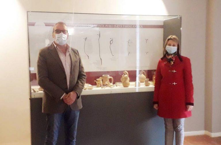 Soriano, l'archeologa Mariangela Preta direttrice del Polo museale