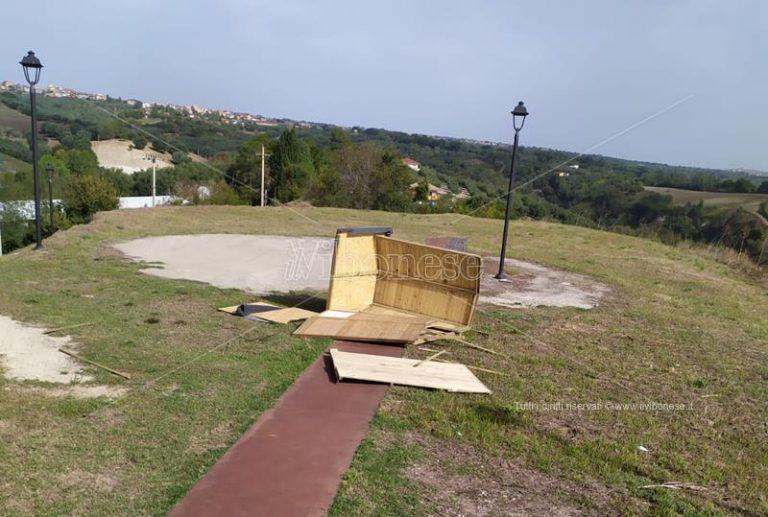 Parco archeologico di Mileto: distrutta la biglietteria