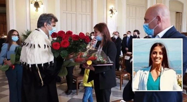 Uccisa dal fidanzato di Dasà, laurea alla memoria per Lorena Quaranta