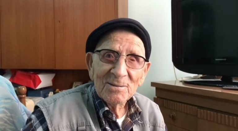 Vincenzo Nardi festeggia 108 anni, è di Simbario l'uomo più longevo della Calabria – Video
