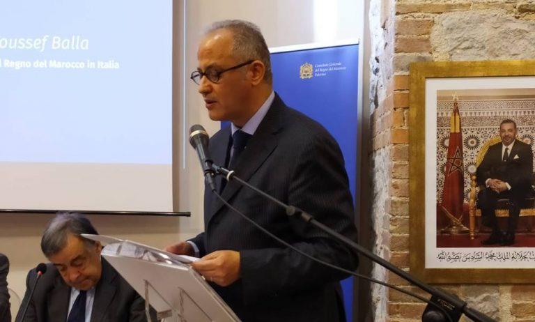 L'ambasciatore del Marocco Youssef Balla in visita nel Vibonese