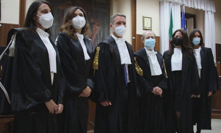 Tribunale di Vibo, quattro nuovi magistrati. «Benvenuti, questo è un posto di frontiera» – Video